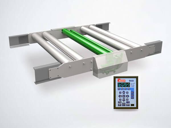 52i Model SG-SP mini flat idler | Conveyor Belt Scales