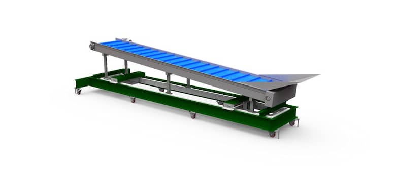 Low-Profile Cable Scale | Accurate Conveyor Belt Scale